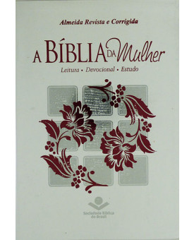 A Bíblia da Mulher | RC | Letra Normal | Couro Bonded | Branca