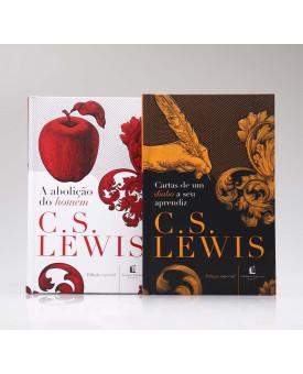 Kit 2 Livros | A Abolição do Homem + Cartas de Um Diabo a Seu Aprendiz | C. S. Lewis