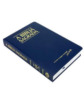 A Bíblia Sagrada | ACF | Letra Grande | Classic | Semi-Luxo | Azul