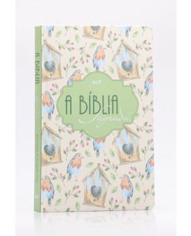Bíblia Sagrada | ACF | Letra Grande | Capa Dura | Aves | Slim