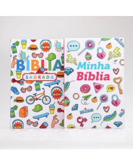 Kit 2 Bíblias | Adolescentes Através da Palavra
