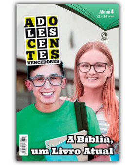 Revista | Escola Bíblica Dominical | Adolescentes | Aluno | 4° Trimestre | 2019