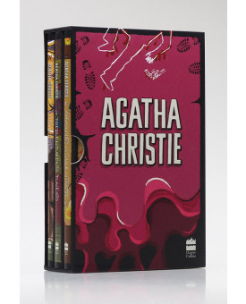 Box 3 Livros | Vol. 7 | Agatha Christie | Roxo
