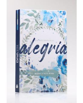 Bíblia Sagrada | Nova Bíblia Viva | Letra Normal | Capa Dura | Alegria