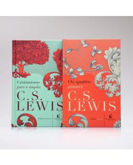 Kit 2 Livros | Cristianismo Puro e Simples + Os Quatro Amores | C. S. Lewis