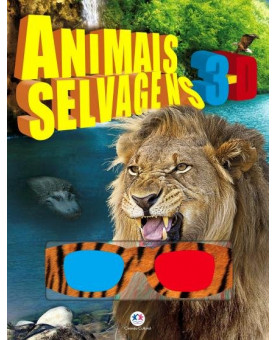 Animais Selvagens | 3D | Ciranda Cultural