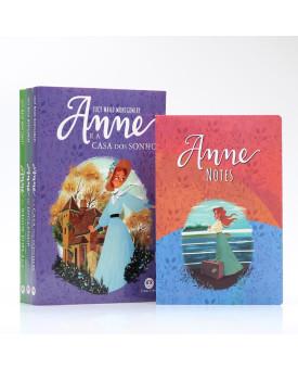 Kit 3 Livros | Anne de Green Gables + Bloco de Anotações | Edição Especial II