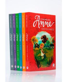 Kit 6 Livros   Anne de Green Gables   Lucy Maud Montgomery + Bloco de Anotações