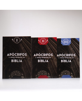 Box 3 Livros | Apócrifos e Pseudo-Epígrafos da Bíblia