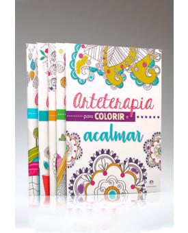 Kit 5 Livros | Arteterapia Para Colorir | Ciranda Cultural