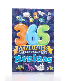 365 Atividades e Desenhos Para Colorir | Meninos
