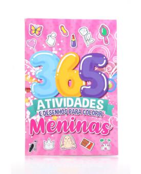 365 Atividades e Desenhos Para Colorir | Meninas