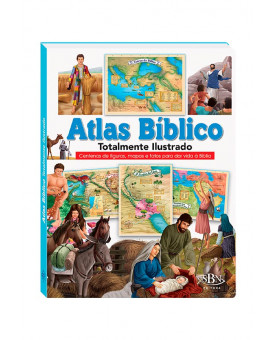 Atlas Bíblico | Totalmente Ilustrado | SBN