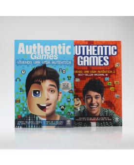 Kit 2 Livros | Authenticgames | Vol. 3 | Marco Túlio