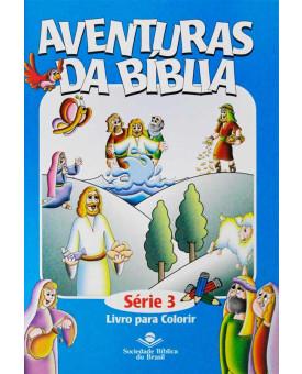 Livro Aventuras da Bíblia Para Colorir - Série 3