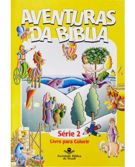 Livro Aventuras da Bíblia Para Colorir - Série 2