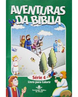 Aventuras da Bíblia Para Colorir | Série 4 | SBB