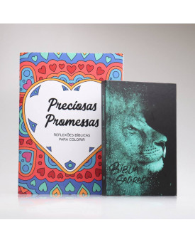 Kit Promessas Sagradas | Leão Azul