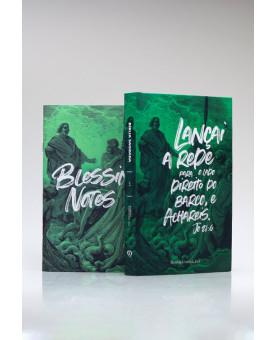 Bíblia Sagrada | ACF | Letra Média | Capa Dura | Lançai a Rede + Blessing Notes