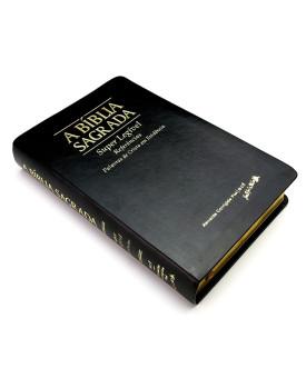 A Bíblia Sagrada | ACF | Super Legível | Palavras de Cristo em Evidência | Luxo | Preta