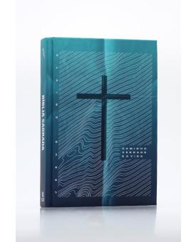 Bíblia Sagrada | NAA | Letra Grande | Capa Dura | Caminho, Verdade e a Vida