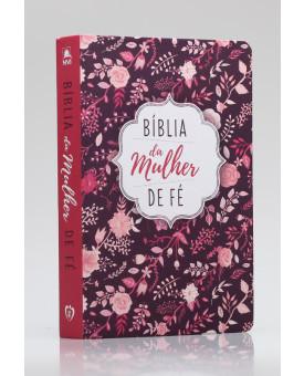 Bíblia De Estudo Da Mulher de Fé | NVI | Letra Normal | Soft Touch | Florida