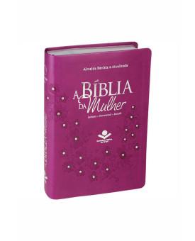 Bíblia Sagrada   RA   Letra Normal   Capa Sintética   Vinho com Pedras