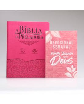Kit A Bíblia da Pregadora + Devocional Semanal Pétalas | Mulher de Fé