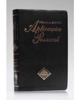 Bíblia de Estudo Aplicação Pessoal | RC | Letra Normal | Luxo | Preta