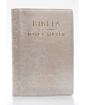 Bíblia de Estudo | Joyce Meyer | NVI | Letra Grande | Dourada
