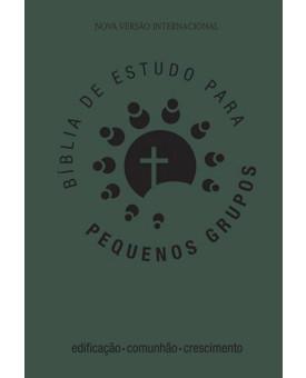 Bíblia de Estudo | Para Pequenos Grupos | NVI | Emborrachada | Verde