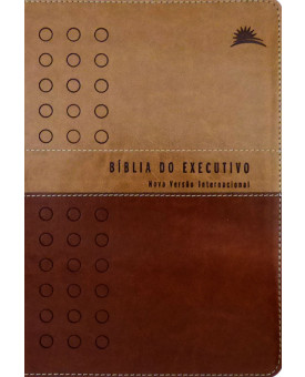 Bíblia do Executivo | NVI | Luxo | Letra Normal | Marrom Claro e Café