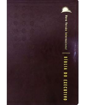 Bíblia Do Executivo | NVI | Luxo | Vinho