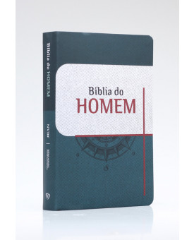 Bíblia do Homem | NVI | Letra Grande | Soft Touch | Bússola