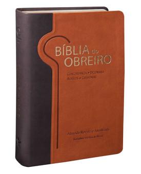 Bíblia do Obreiro | RA | Capa Sintética | Letra Grande | Marrom