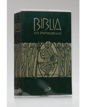 Bíblia do Peregrino | Letra Normal | Brochura | Tamanho Médio | Verde