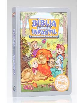 Bíblia Ilustrada Infantil | Capa Dura | Editora Geográfica