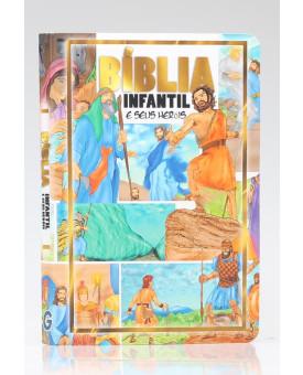 Bíblia Infantil e Seu Heróis | Brochura | Editora Geográfica
