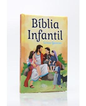 Bíblia Infantil | Capa Dura Almofadada | SBN