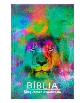 Bíblia Sagrada | King James Atualizada | Letra Grande | Leão Color
