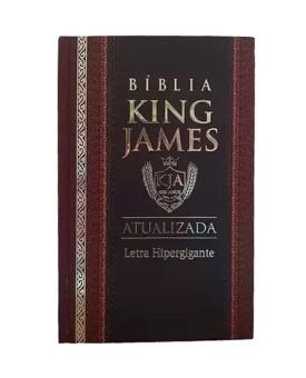 Bíblia Sagrada KJA | King James Atualizada | Letra Hipergigante | Capa Dura | Clássica