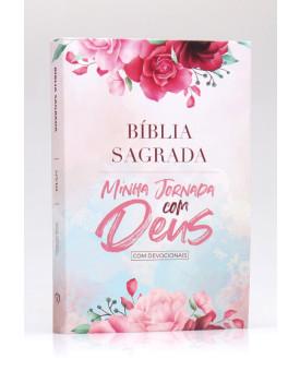 Bíblia Sagrada Minha Jornada com Deus Com Devocionais | NVI | Letra Normal | Semi-flexível | Deus