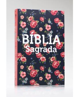 Bíblia Sagrada | NVT | Letra Média | Capa Dura | Rosas