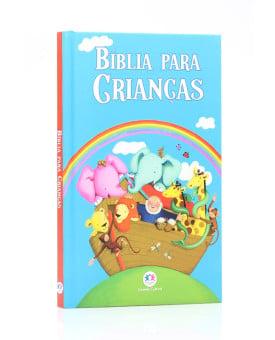 Bíblia Para Crianças | Capa Dura | Ilustrada | Azul | Ciranda Cultural