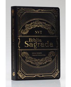 Bíblia Sagrada | NVT | Letra Grande | Capa Dura | Preta