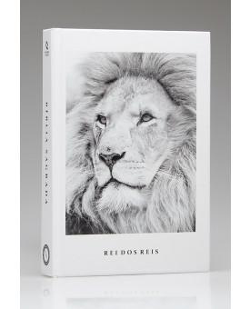 Bíblia Sagrada | NAA | Letra Grande | Capa Dura | Rei dos Reis