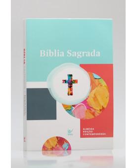 Bíblia Sagrada | AEC | Letra Normal | Brochura | Aquarela