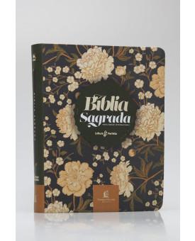 Bíblia Sagrada | NVI | Leitura Perfeita | Letra Normal | Soft Touch | Flores | Com Espaço Para Anotações