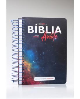 Bíblia Sagrada Anote | NVT | Letra Grande | Capa Dura | Espiral | Nébula