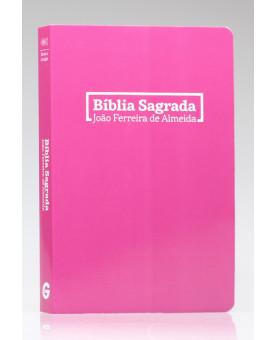 Bíblia Sagrada | RC | Letra Grande | Brochura | Rosa